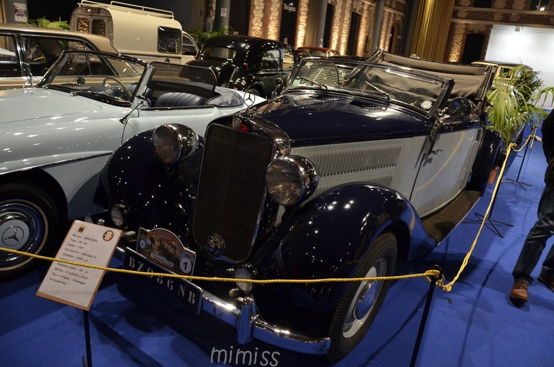 Mercedes W143 Cabriolet A 1937 1