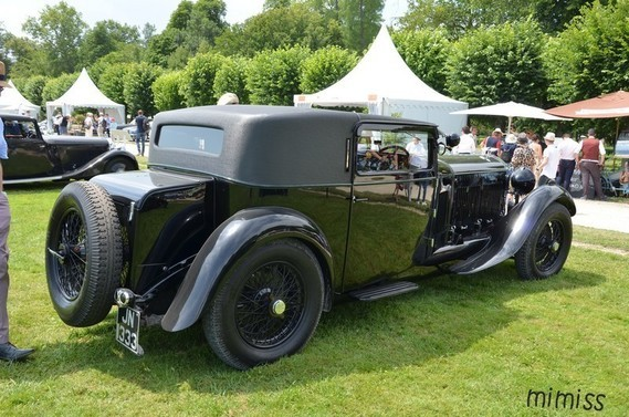 Bentley 8 Litre Foursome Coupé 1931 5