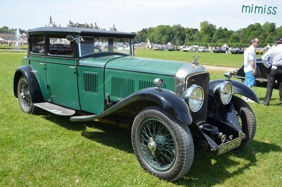 Bentley Speed Six Gurney Nutting Weymann Saloon 1929 1