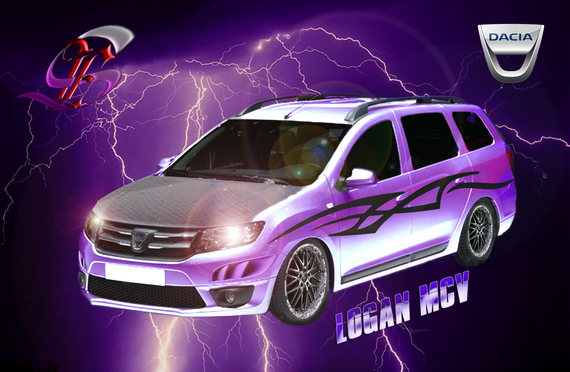 logan mcv tuning dacia logan mcv 2013 ricodark. Black Bedroom Furniture Sets. Home Design Ideas