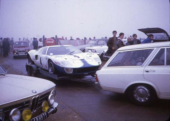 Transporteur - Remorque - X - 1969 - Montlhéry Ford GT 40 Martin-Piot - 100 (1)