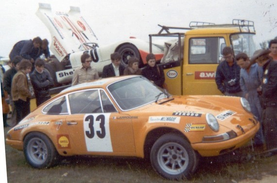 Transporteur - Opel Blitz B - 1971 - [VD 200319] - Team Wicky - Magny-Cours 1971 - Archives Larousse