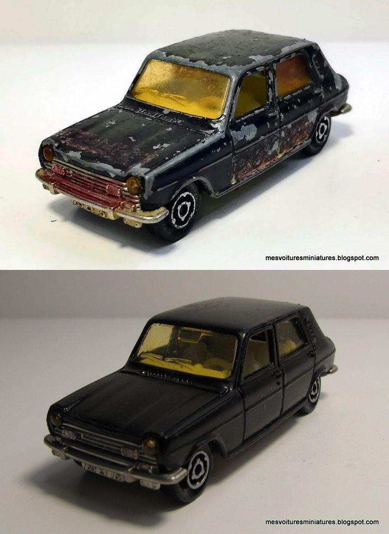 Simca 1100 TL noire -Panorama