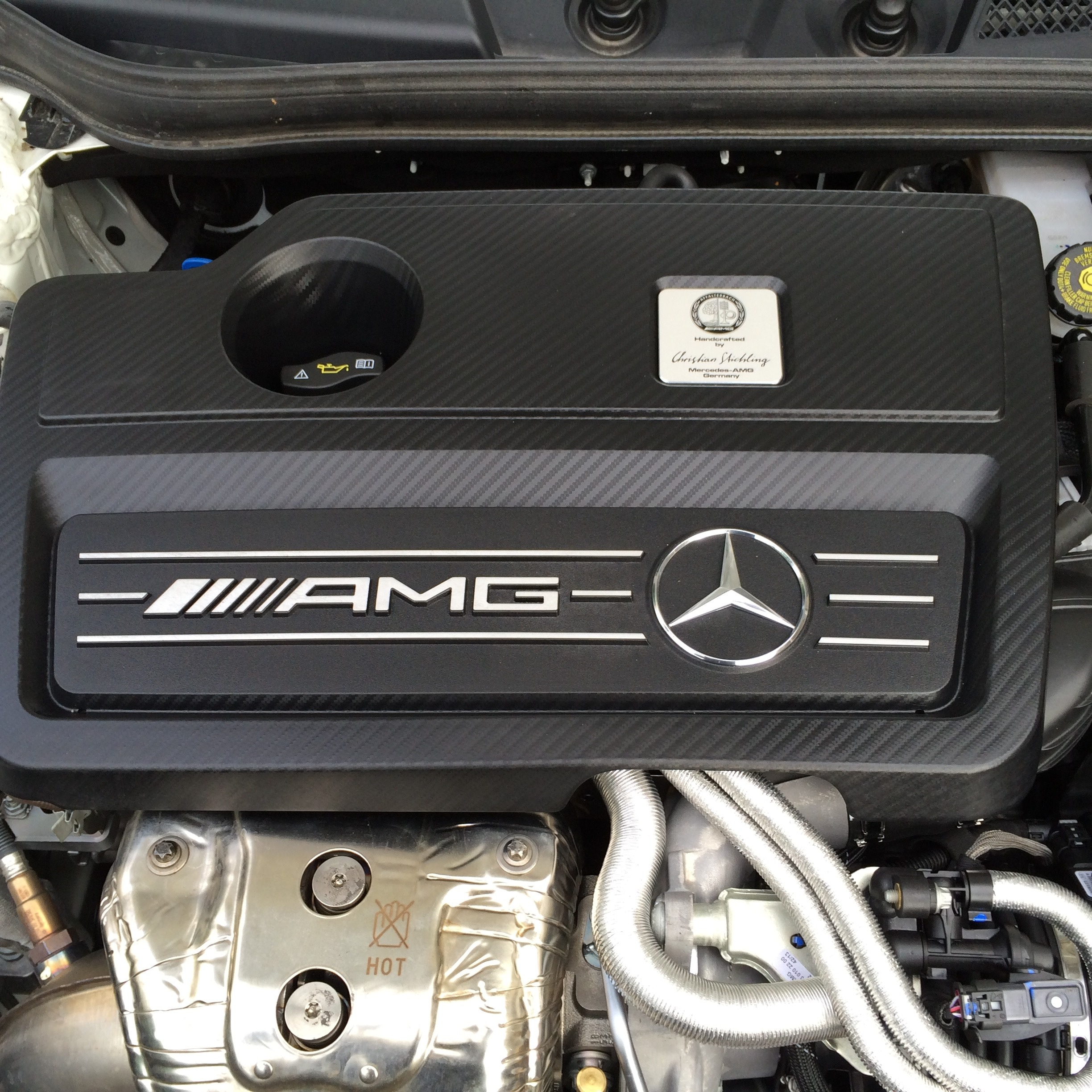 New Engine A45AMG