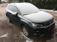 L'abominable Ateca des neiges :)