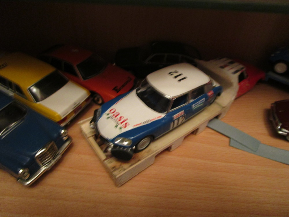 ds rally dakar 1/43
