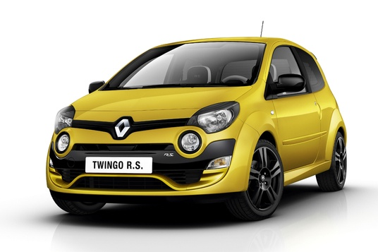 2011 Twingo RS face