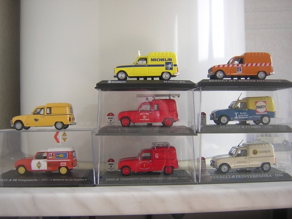 RENAULT 4 fourgonnettes