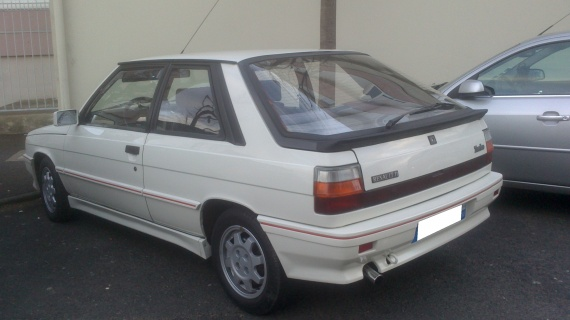 Renault . 1986 11 Turbo