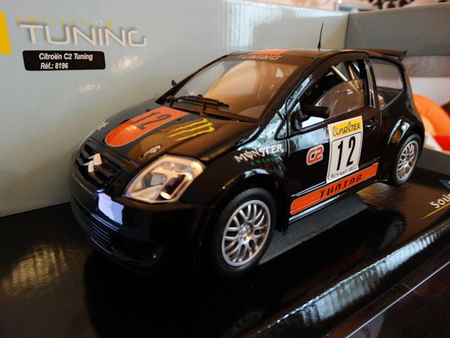 Citroen C2 Tuning Solido modifié rally