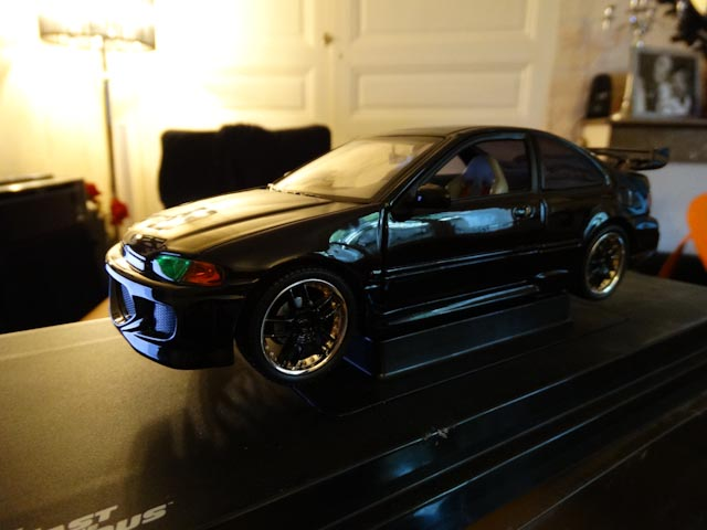 Honda Civic Fast And Furious ERTL modifié
