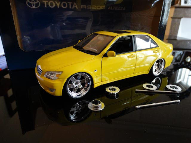Toyota Lexus Altezza RS200 Auto Art modifié