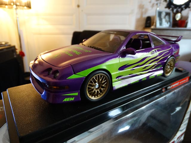 Honda Acura Integra type r Tunerz Hot Wheels