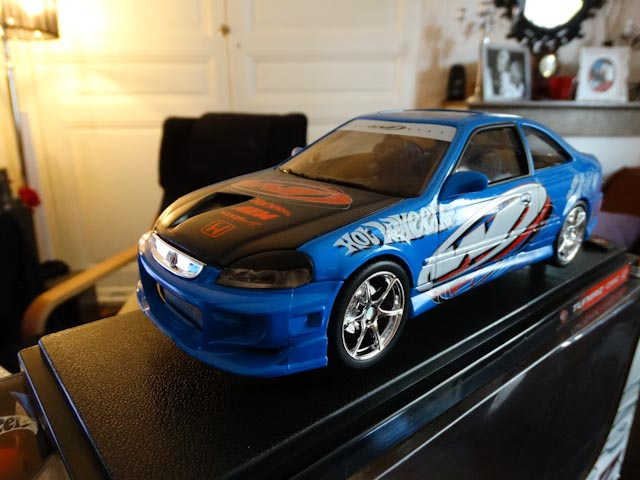 Honda Civic Wing West Hot Wheels