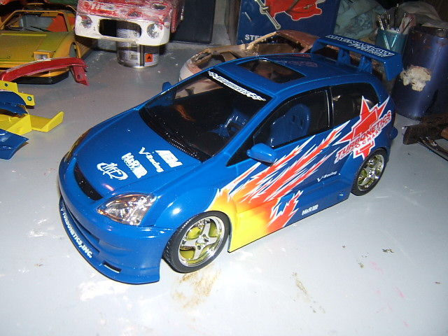 Honda Civic SI Tunerz Hot Wheels