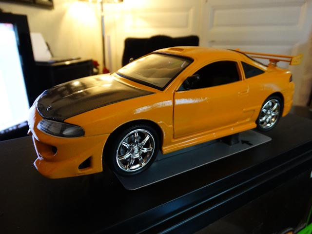 Mitsubishi Eclipse Fast And Furious ERTL