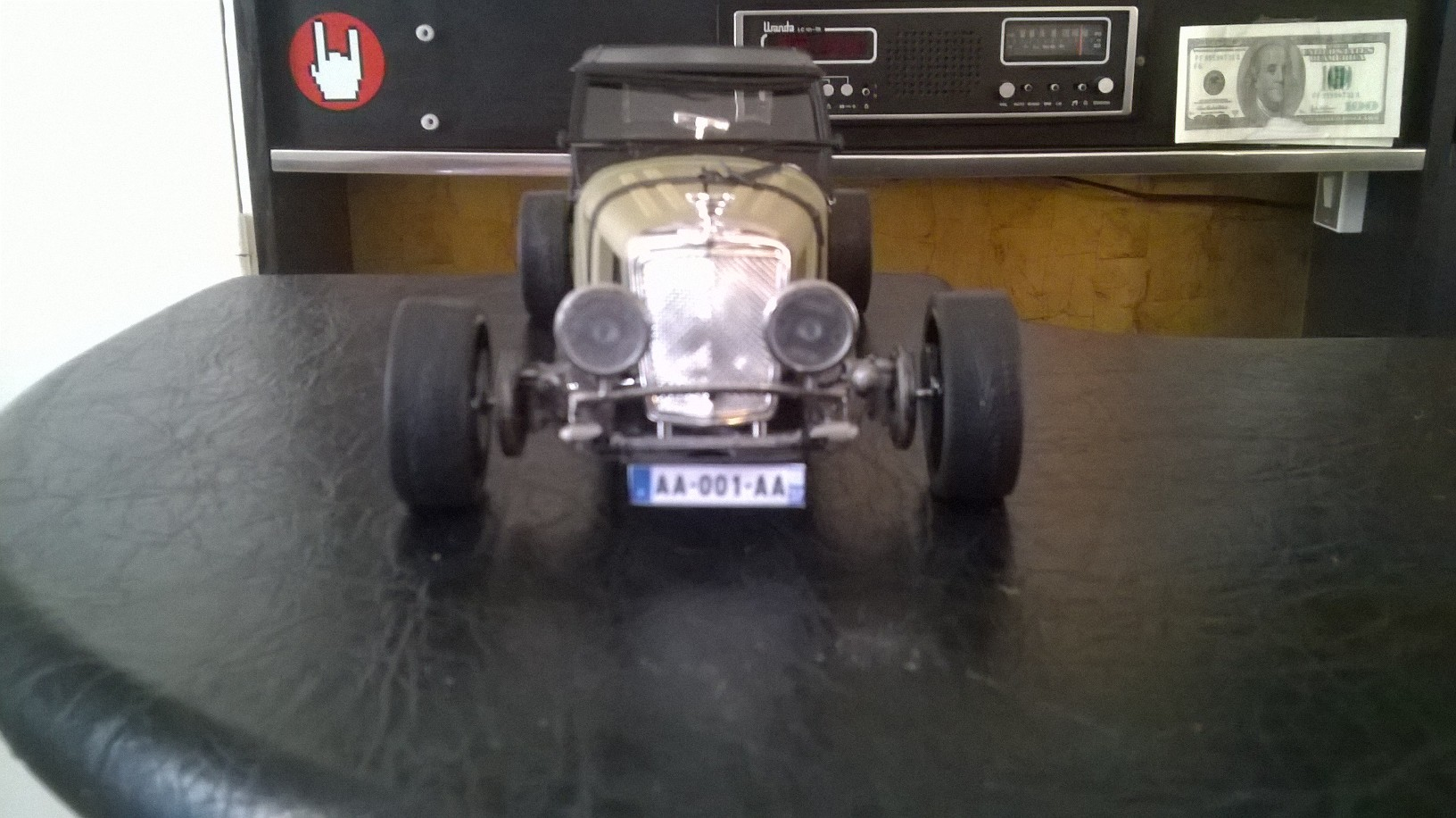 Jaguar ss 100 Hot Rod 1/18 .14