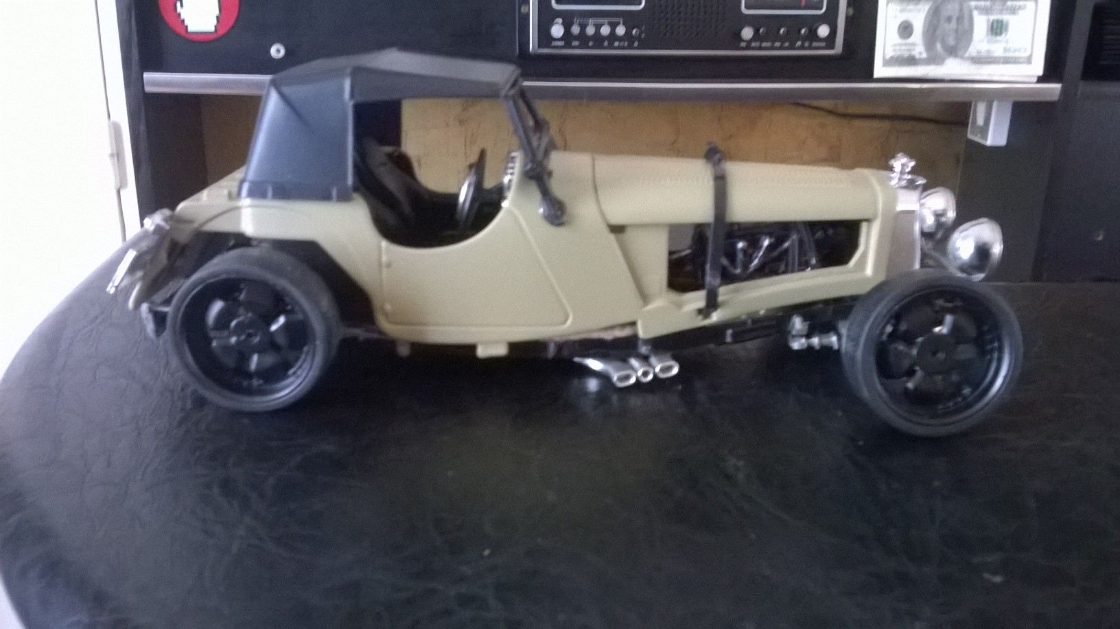 Jaguar ss 100 Hot Rod 1/18 .12