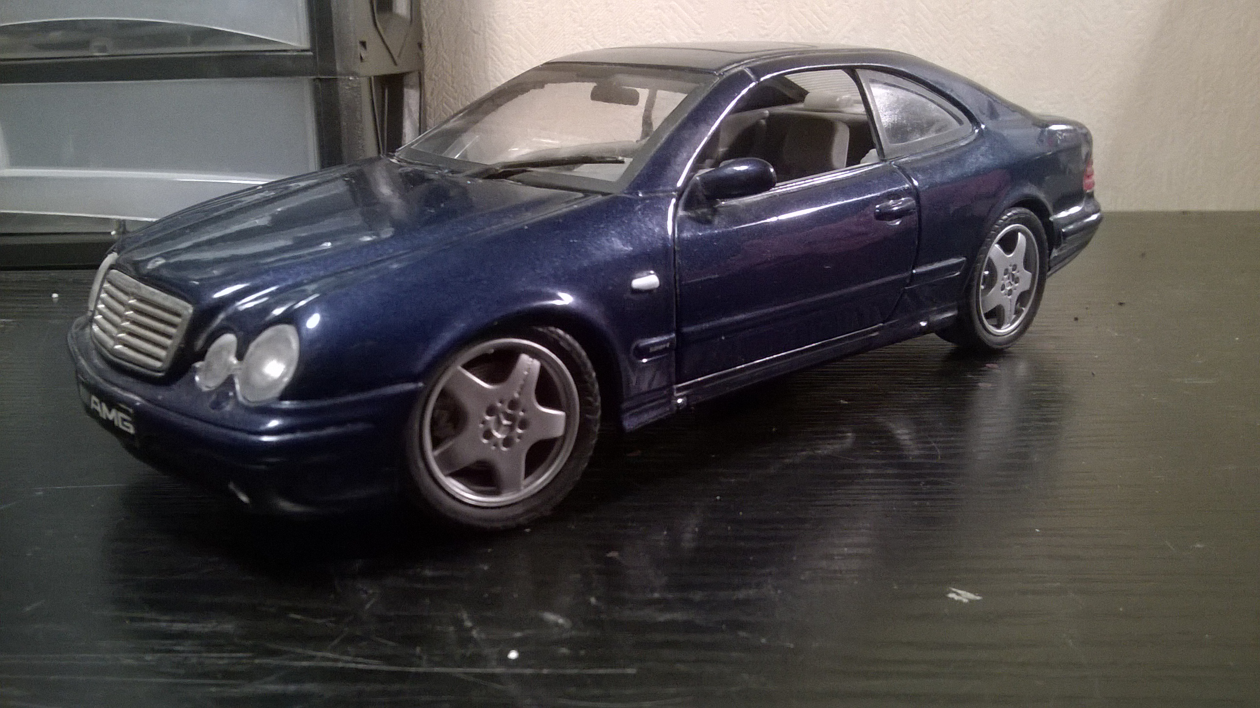 Mercedes CLK coupe AMG anson