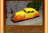 panhard Berline Dynamic Panoramique  140  SS  Taxi US