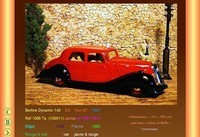 panhard Berline Dynamic Panoramique  140  SS  Taxi G7