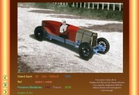 Panhard Grand Sport 20cv 1925 provence moulage