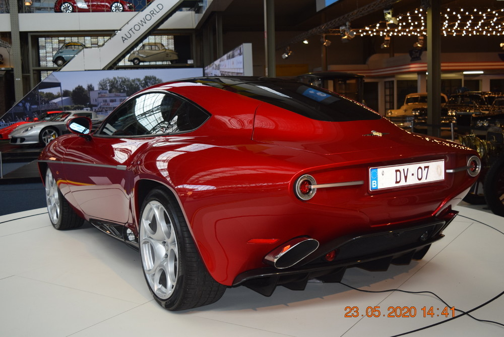 Alfa Romeo Disco Volante Superleggera by Touring