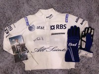 Nico Rosberg Used and Signed Nomex & Gloves - Williams F1