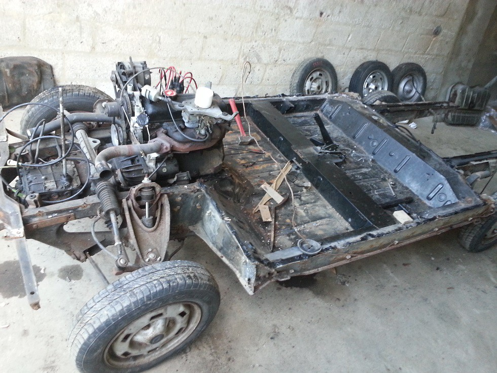 Chassis + moteur