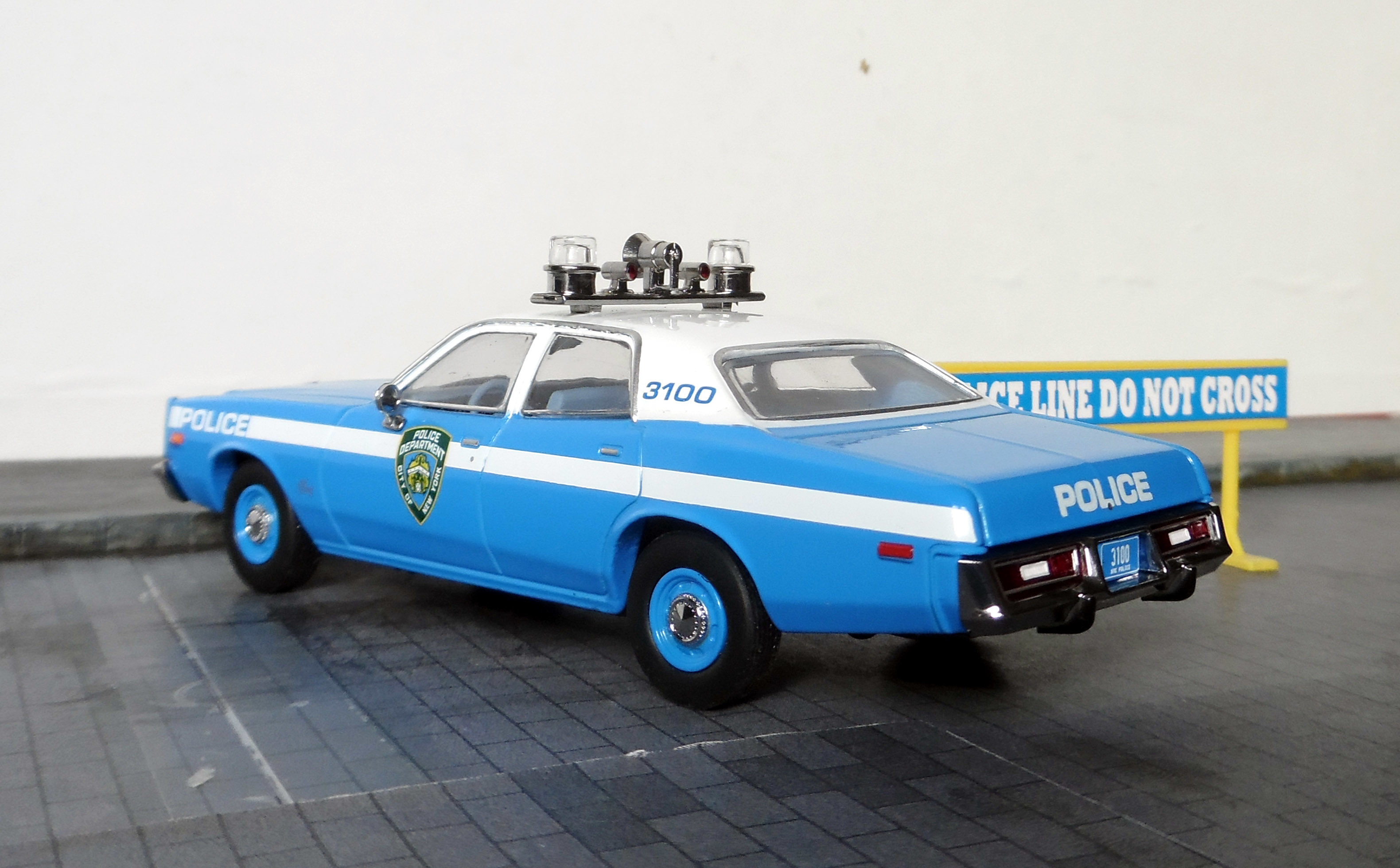Plymouth fury 75 nypd