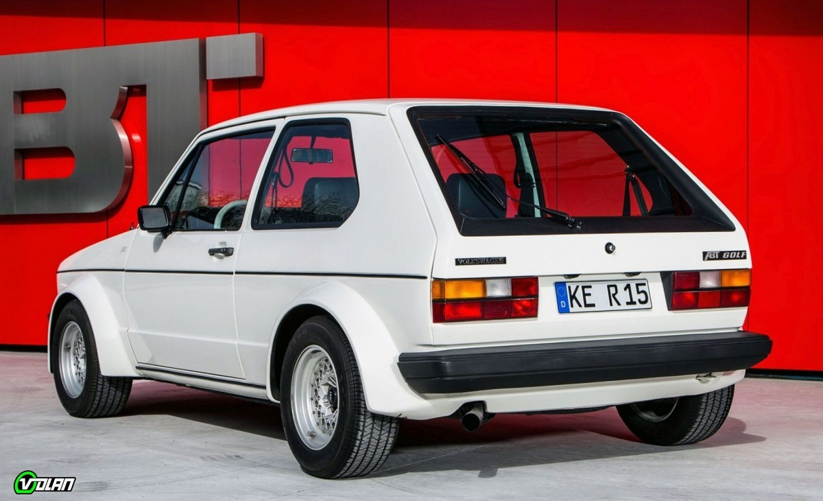 Golf 1 GTI ABT Ailes larges