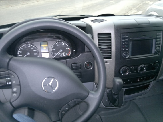 Sprinter 2012 interieur