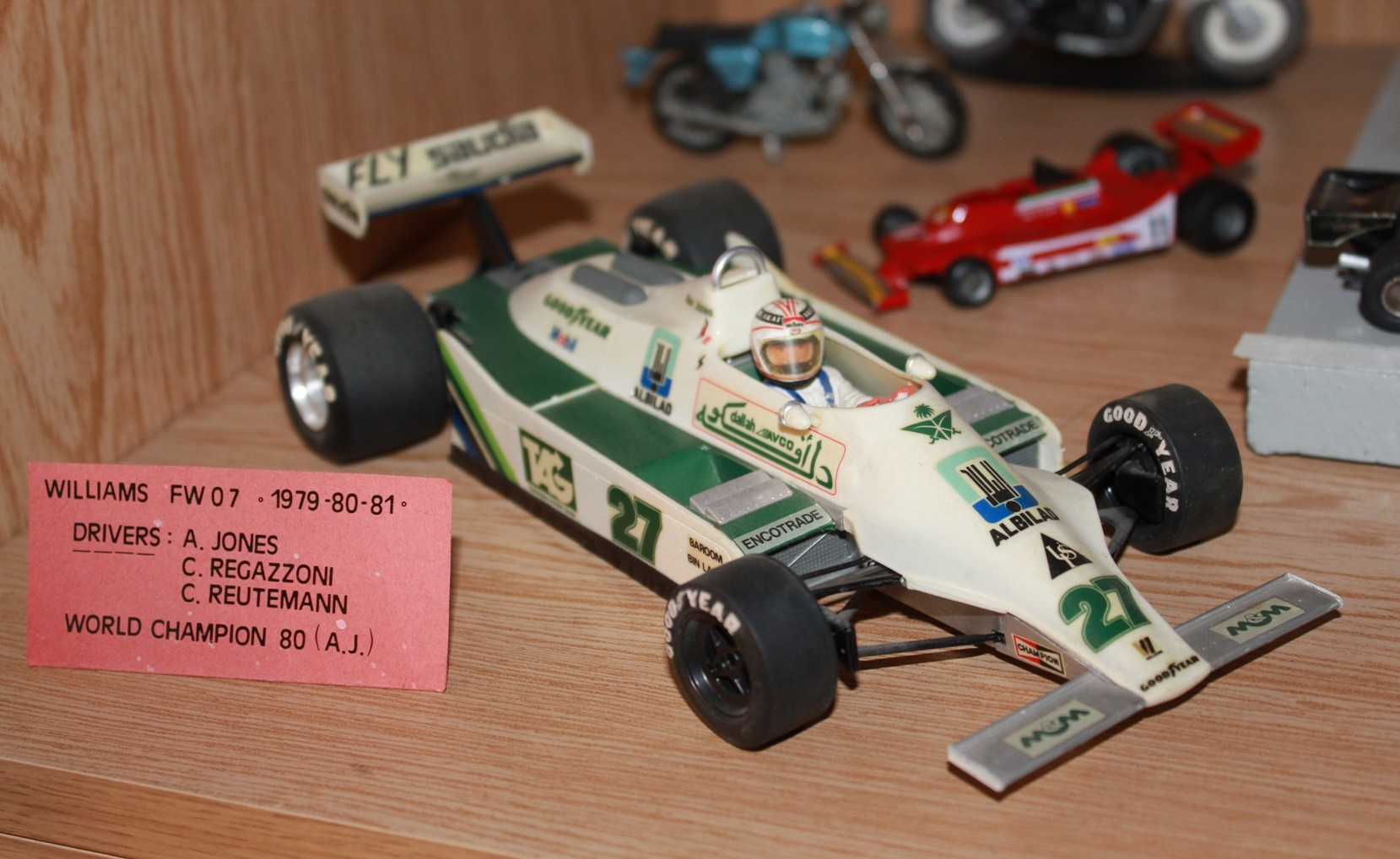 Williams FW07 Jones_Tamiya