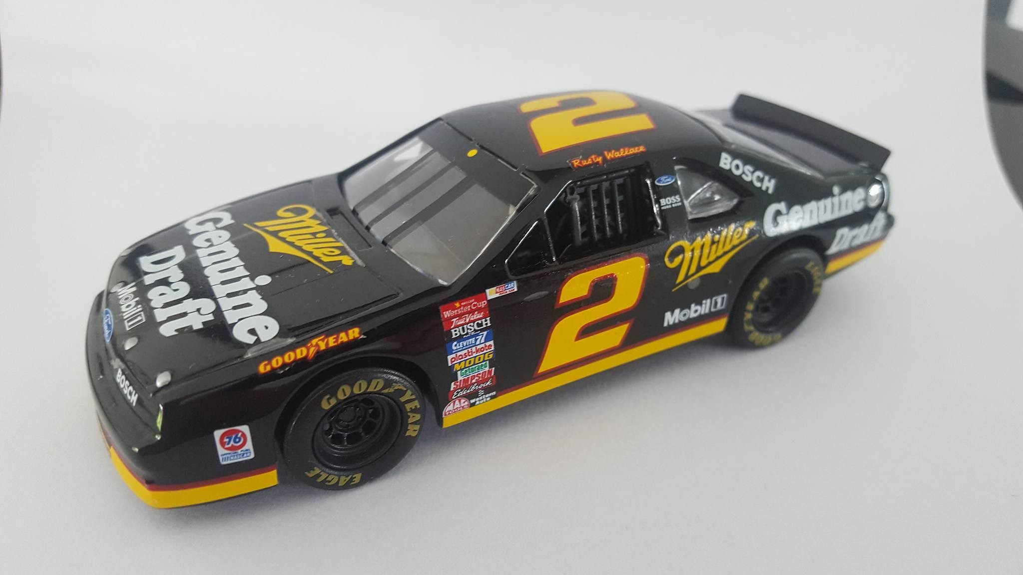 1995 - Ford Thunderbird - #2 - Miller - Rusty Wallace