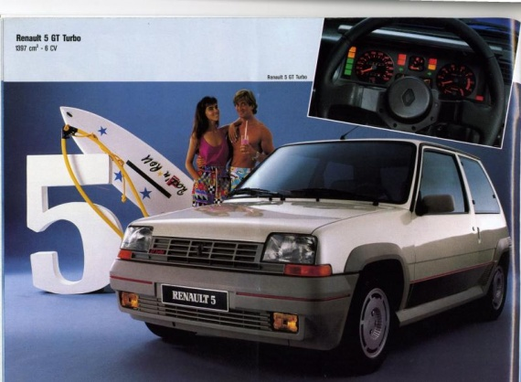catalogue renault 1987 r5