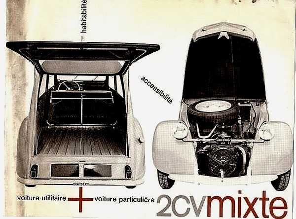 Citroen 2 cv Mixte - P
