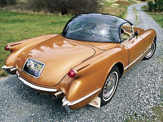 Corvette-Bubbletop-1955