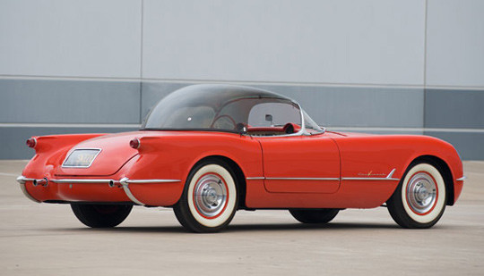 Corvette-WithAccessBubbleTop-1954