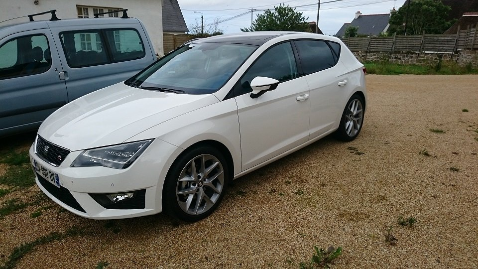 seat leon fr 1 4 tsi 150cv blanc pr sentation leon seat forum marques. Black Bedroom Furniture Sets. Home Design Ideas