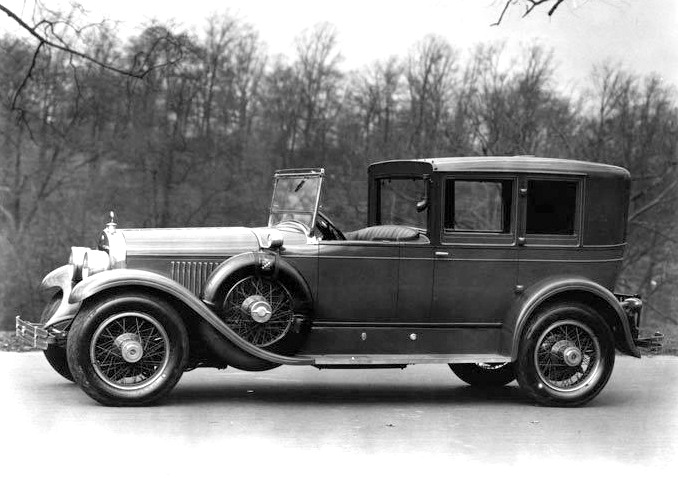 1927 Town Brougham Style 2891