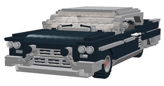 1957 LEGO brougham peter blackert