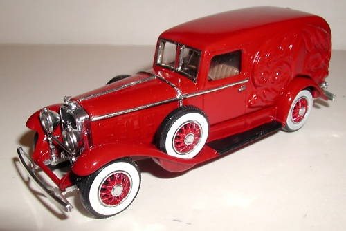 1930 ELC hearse rouge
