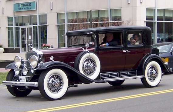1931 V16 CADILLAC FLEETWOOD CLUB SEDAN