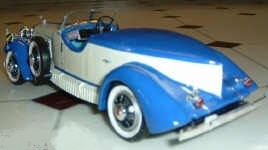 1931 WENGER TERRY boat tail
