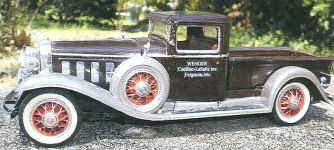 1931 WENGER TERRY pick up