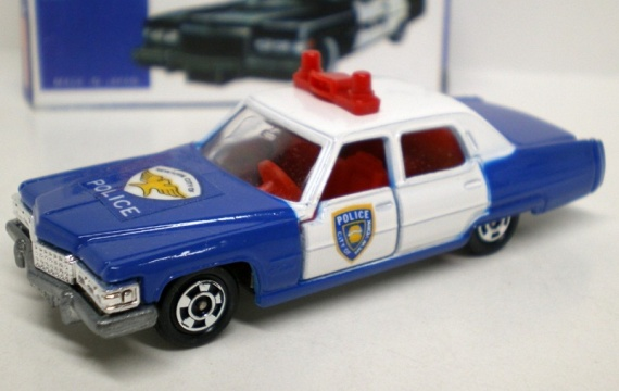 TOMICA F51 Cadillac Police Car - From Gift Set  72