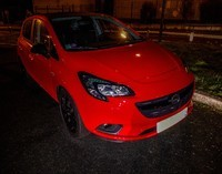Corsa in the night