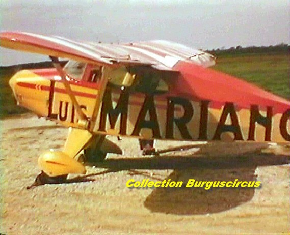 avion Luis Mariano Pinder (photo burguscircus)