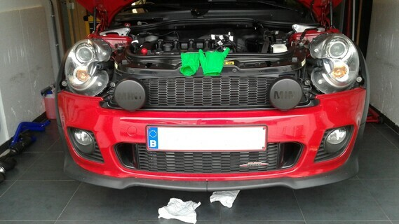 remontage face av intercooler 1