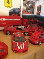 La collection Ferrari